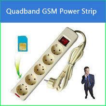 2017 Promotion Quad Band EU GSM Power Strip for remote listening in