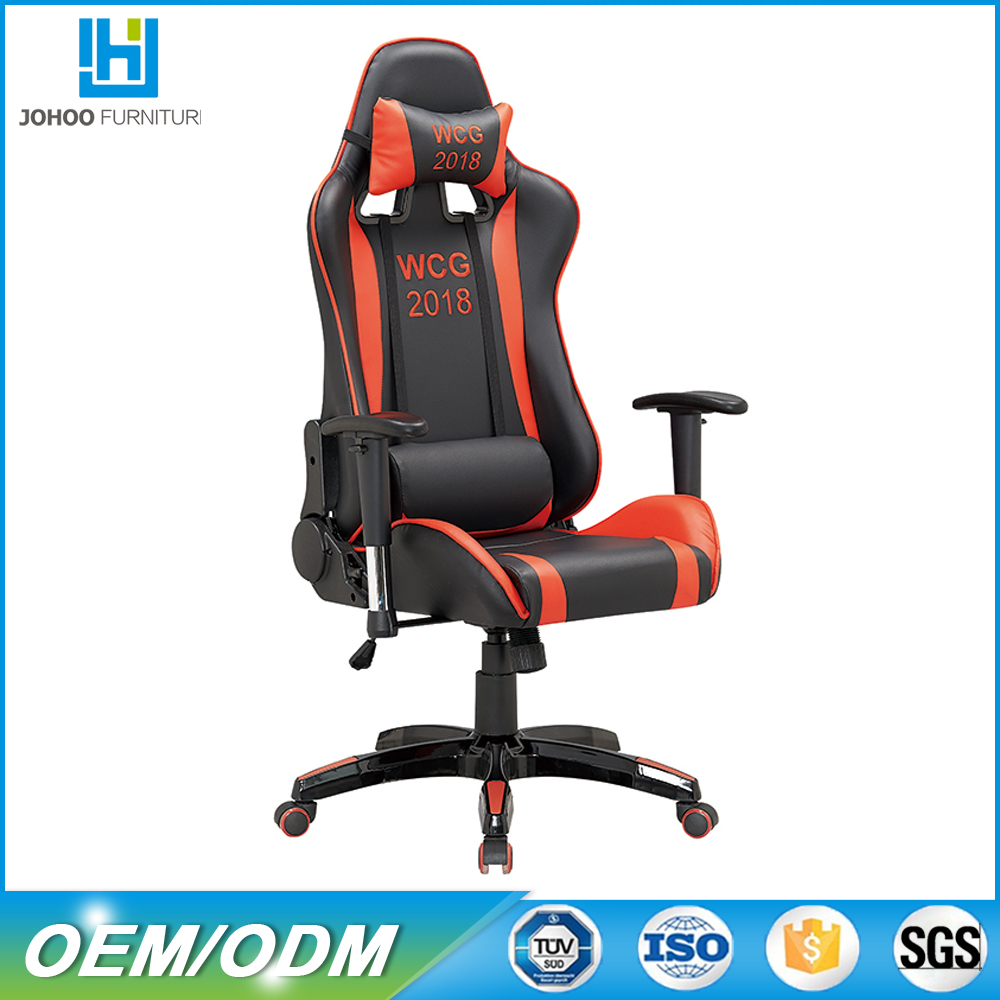 Racing Gaming Chair Recliner Red And Black Game Chair racing