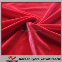 Chinese Manufacturer Offered Textiles Polyester Brushed Velvet Fabric For Wholesales