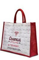 Jute shopping bag / jute hand bag / jute gift bag