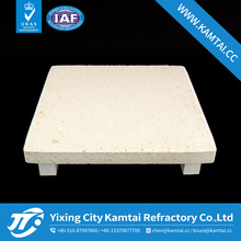 Mullite refractory slab kiln furniture