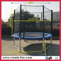 Createfun professional factory cheap circle trampoline for rent