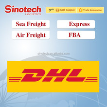 low rate DHL express courier door to door from China to Pakistan