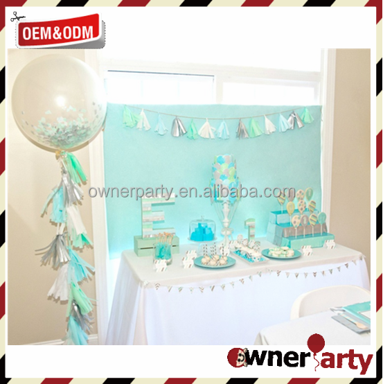 China Manufacture Hot Sale Wholesale Baby Shower Garland DIY