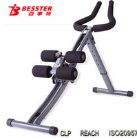 2016 new BESSTER JS-001R Power Plank Body Glide ab trainer as seen on tv AB Shaper