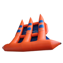 6 person floating boat inflatable flyfish banana boat for sale