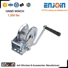 CE SGS approved Manufacturing 1200lbs galvanized small mooring winch