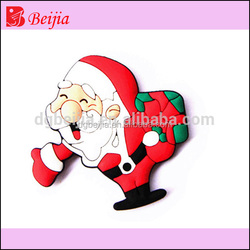 Factory Wholesale Quality Custom Christmas Gift Rubber PVC 3D Souvenir blank Fridge Magnet