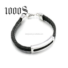 Charm Bracelets or Bangles Jewelry Type Wholesale Men Bracelet Leather Wholesale Direct Factory
