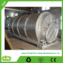CE Certification Waste Tire Pyrolisis Machine to crude oil