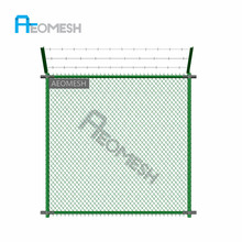 durable wood framed fence /Diamond Shaped Steel Wire / hot sale used chain link fence