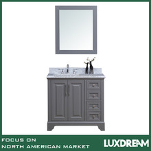 "36"" modern solid wooden new bathroom vanity by Luxdream"