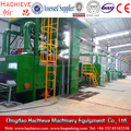 Steel profiles rust removing machine roller conveyor shot blasting machine