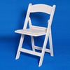 White Folding Plastic Chair