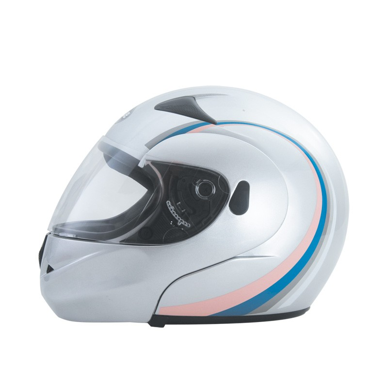 twin shield flip up motorcycle helmet