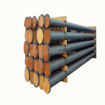 excellent mining long life span composite steel and pipes rubber lining