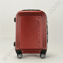 Injected Matt Finished PC Hardside Luggage With Spinner Wheels