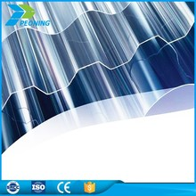 Heat stability corrugated translucent fibreglass vinyl roofing panels