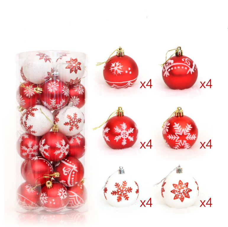Wholesale Selling plastic decorating Colorful Christmas Balls custom Christmas ornaments