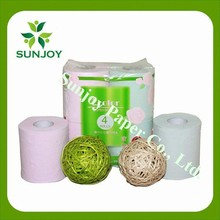 Most popular super soft raw material of toilet paper