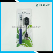 Factory price E cigarette Ego Ce4, ego ce4 blister kit, ego ce4 electronic cigarette e hookah wholesale china