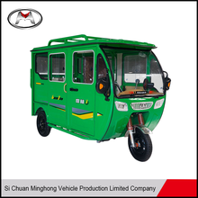 2017 60V 1200W baterry auto rickshaw used electric tricycle