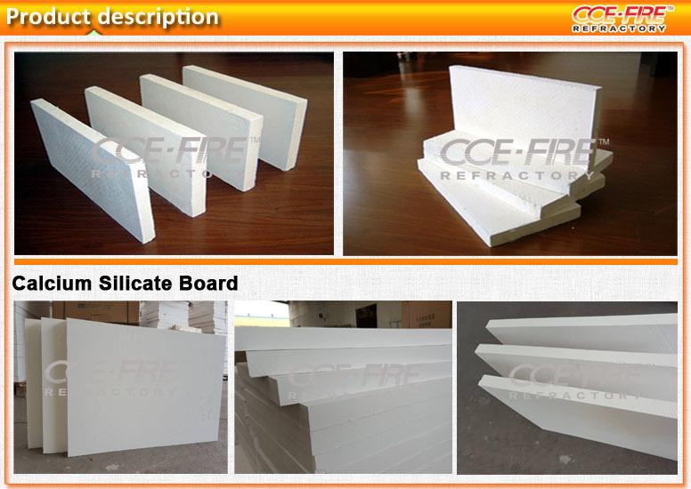 Rigid Calcium Silicate Insulation : Light weight fireproof boards calcium silicate view