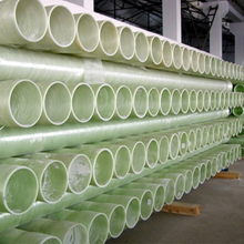 Long life fiberglass reinforced plastic pipe for chemical industry