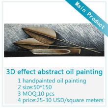 3D Effect Abstract Oil Painting