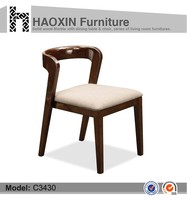 Hot sale solid wood antique used restaurant wood chairs C3430