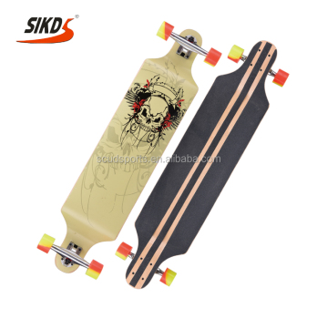 longboard double drop long board maple longboard