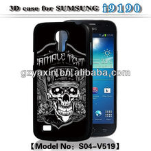 Hot selling ! 3d case for samsung galaxy s4 mini,for samsung galaxy s4 mini i9190 i9192 case