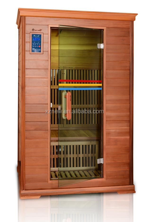 Sauna room waterproof lcd tv,2 persons portable sauna room