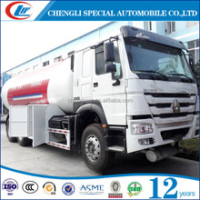 China Made 6 wheels big volume lpg bobtail trucks for sale