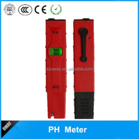 Hot selling handheld water glass electrode ph meter