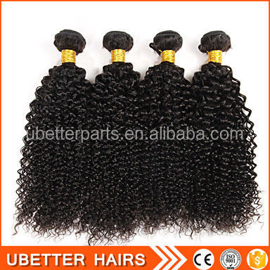 Natural unprocessed virgin curly synthetic braiding hair