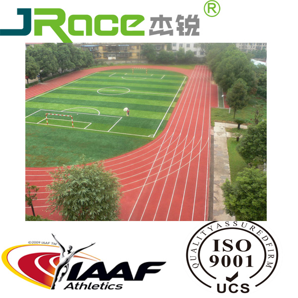 professional surface Sandwich System Running Track field construction