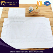 lastest new 100% cotton Anti-slip bathroom China Bath mat / bath rug / custom size bath