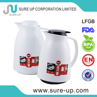 Top selling plastic milk jug with glass liner thermos coffee small (JGHW)
