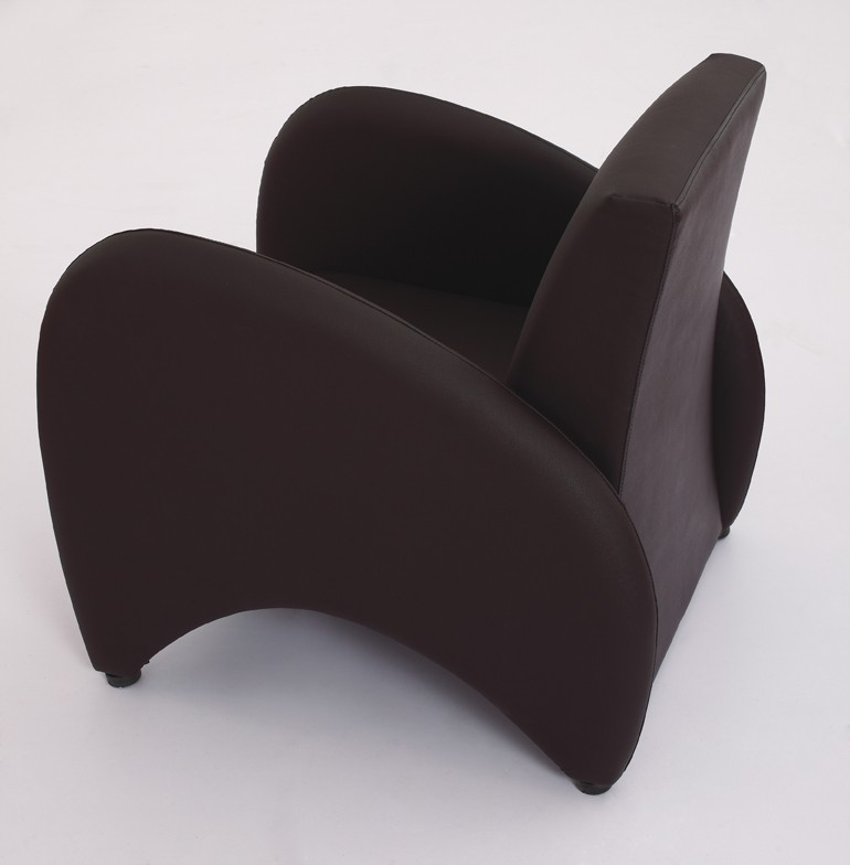 8036# leather armchair single seater sofa modern leather sofa