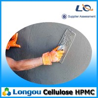 HPMC as adhesive in tile fixing adhesive, gray mortar, wall putty