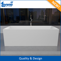 Project-Oriented Artificial Stone Freestanding Used Bathtub