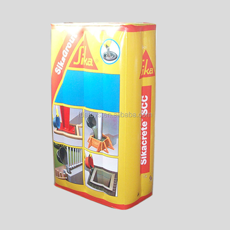 Customized PVC inflatable cubes for advertising