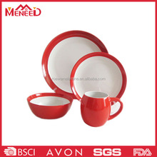 China products plastic melamine outdoor dinnerware sets