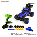 Bricstar improve Hands-on ability 2.4G 4WD DIY car toy rc rock crawler with 640*480P camera