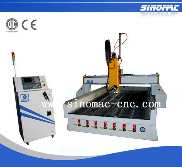 Sinomac 4axis cnc router jinan supplier S2-1530 sunrooms & glass houses