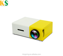 Mini LCD Projector YG300 Portable Multimedia Home Cinema 30000 Hours Led Life wifi 2.4G LED Portable Pocket Projector