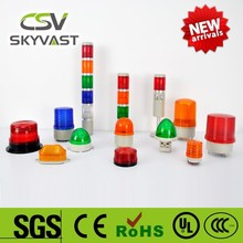 Manufacture traffic light IP40 blue red tower lights yellow green flash LED led signal stack
