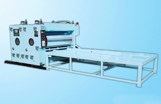 800 ink printing slotter machine/ large style chain driven printing slotter and die cutting mschine