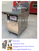 CE Approved Shanghai minggu chicken broaster machine, kfc frango frito chicken wing fried chicken equipment
